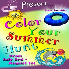 Color Your Summer Hunt in Second Life