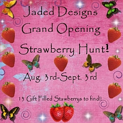 Strawberry Hunt at Jaded Designs