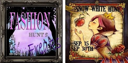 Fashion Freaks Hunt 2 & Snow White Hunt in Second Life