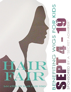 Hair Fair 2010 in Second Life