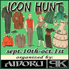 The Icon Hunt in Second Life