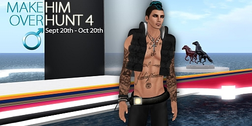 Make Him Over Hunt 4 in Second Life