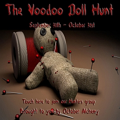 The Voodoo Doll Hunt in Second Life