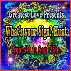 What's Your Sign Hunt in Second Life