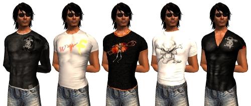 5 Shirts for Men