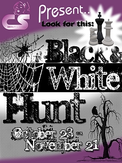 Black & White Hunt in Second Life