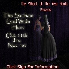 The Samhain Hunt in Second Life