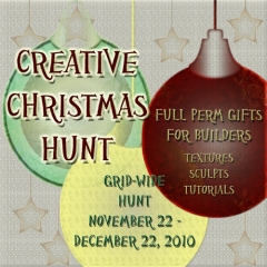 Creative Christmas Hunt in Second Life