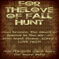 For the Love of Fall Hunt in Second Life