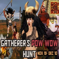 Gatherer's Pow Wow Hunt in Second Life