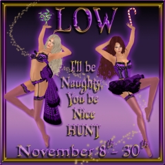 LOW I'll Be Naughty, You Be Nice Hunt in Second Life
