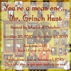 Mr. Grinch Hunt in Second Life