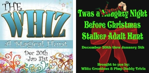 The Whiz: A Magical Hunt & Twas a Naughty Night Before Christmas Stalker Adult Hunt
