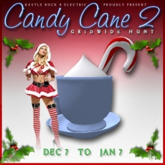 Candy Cane Hunt 2 in Second Life
