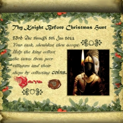 Thy Knight Before Christmas Hunt in Second Life