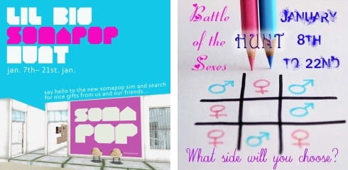 Lil Big Somapop Hunt & Battle of the Sexes Hunt