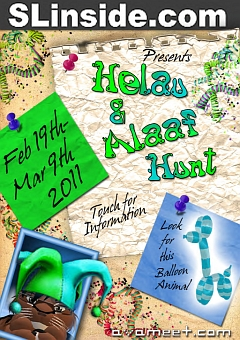 Helau & Alaaf Hunt in Second Life