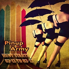 Pinup Army Hunt in Second Life