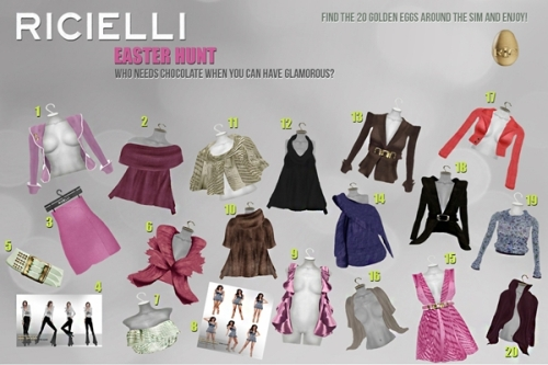 Ricielli Easter Hunt in Second Life