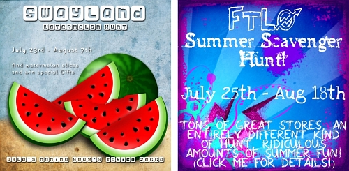 Sway's Watermelon Hunt & FTLO Summer Scavenger Hunt