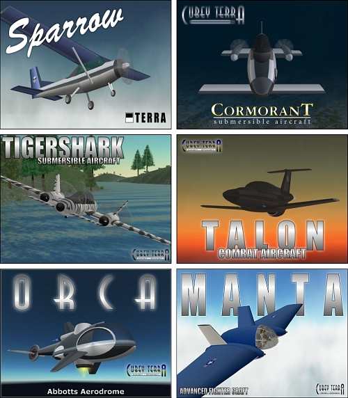 Aircraft for Free in Second Life