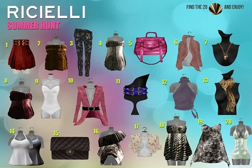 Ricielli Summer Hunt in Second Life