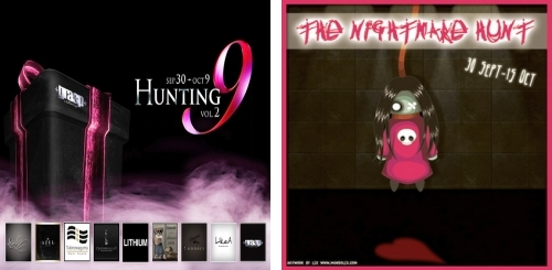 Hunting 9 Vol.2 & The Nightmare Hunt in Second Life