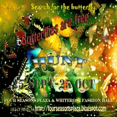 Butterflies are Free Hunt in Second Life