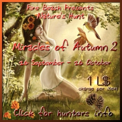 Nature's Hunt Miracles of Autumn 2 in Second Life