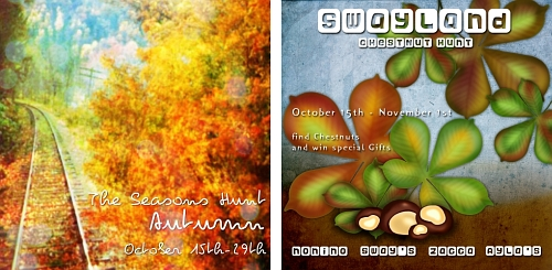 The Seasons Hunt - Autumn & Sway's Chestnut Hunt in Second Life