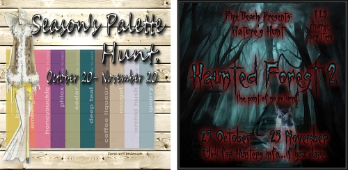 Season's Palette Hunt & Nature's Hunt Haunted Forest 2 in Second Life