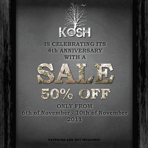Anniversary Sale @ KOSH in Second Life