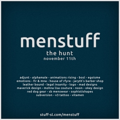 MENstuff Hunt 3 in Second Life