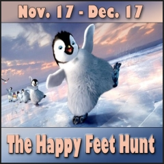 The Happy Feet Hunt in Second Life