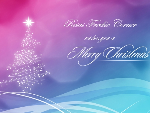 Resas Freebie Corner wishes you a Merry Christmas