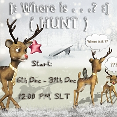 Where is…? Hunt in Second Life