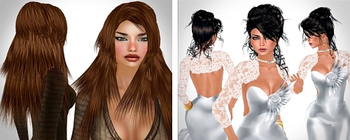 2 free Hairstyles by Alli & Ali in Second Life