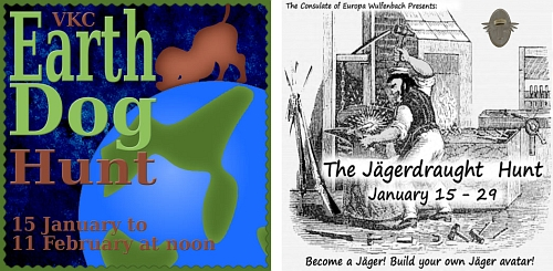 Earth Dog Hunt & The Jaegerdraught Hunt in Second Life