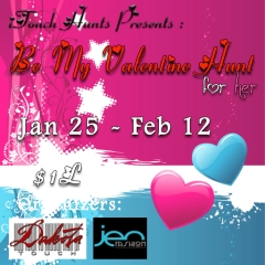 Be My Valentine Hunt in Second Life