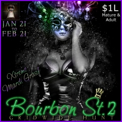 Bourbon St. 2 Gridwide Hunt in Second Life