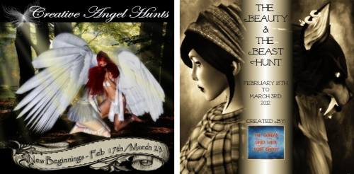 Creative Angel Hunt 3 & The Beauty and The Beast Hunt in Second Life