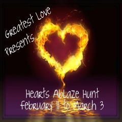 Hearts Ablaze Hunt in Second Life