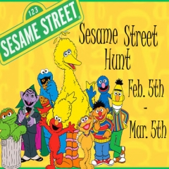 Sesame Street Hunt in Second Life