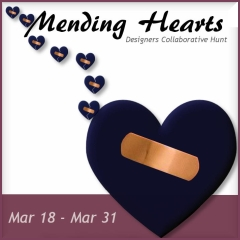 Mending Hearts Hunt in Second Life