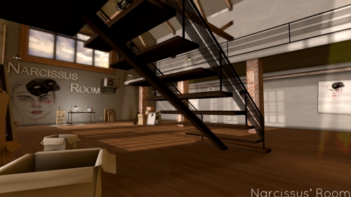 Narcissus' Room in Second Life