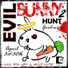 Evil Bunny Hunt 2 in Second Life