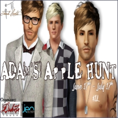Adam's Apple Hunt in Second Life
