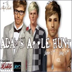 Adam's Apple Hunt in Second Life