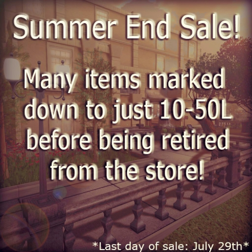 Summer End Sale @ Apple May Designs in Second Life