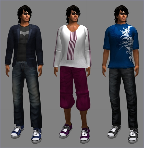 Freebies for Men in Second Life